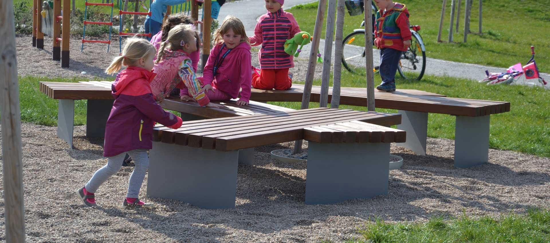 dětské hřiště v Poličce