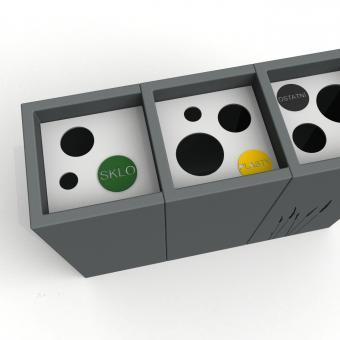 řešení pro separovaný odpad