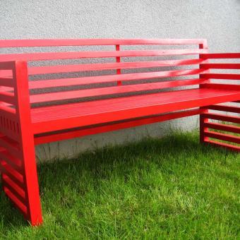 barevné řešení lavice